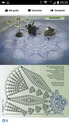 Free Crochet Doily Patterns, Crochet Doily Diagram, Crochet Doilies, Knit Or Crochet, Filet Crochet, Crochet Hats, Paper Flowers Craft, Flower Crafts, Crochet Angels