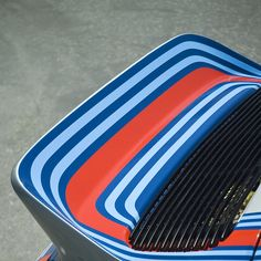 Martini Stripes - the perfect duck tail graphic!