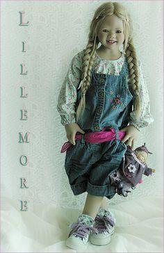 Lillemore (club doll Annette Himstedt 2007) and Kleine kati (Annette Himstedt 2003)