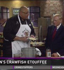 Recipes: Crawfish etouffee, potato salad