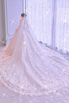 Fancy Wedding Dresses, Princess Wedding Dresses, Fairytale Dress, Fairy Dress, Princess Dress Patterns, Princess Ball Gowns, Fantasy Dress, Ball Dresses, Beautiful Gowns