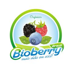 Arte campeã do projeto Bioberry Brasil - Produção Orgânica de Frutas vermelhas