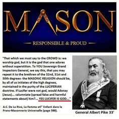 Pike, co-founder KKK. If a=1, b=2, k would be 11. KKK=33. According to the Book of Enoch (death sea scrolls), Mt Hermon (33rd) was the place where the fallen angels landed. Ephesians 6:12 For our struggle is not against flesh and blood, but against the rulers, against the powers, against the world forces of this darkness, against the spiritual forces of wickedness in the heavenly places.