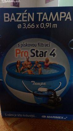 Nový bazén Tampa s pískovou filtrací Pro Star - obrázek číslo 1