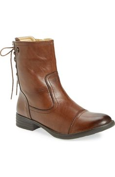 Bussola 'Tapei' Lace Back Boot (Women) available at #Nordstrom