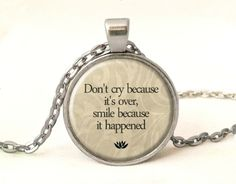 QUOTE Necklace, Quote Pendant, 0226POS from EgginEgg by DaWanda.com