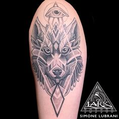 Tattoo by Lark Tattoo artist Simone Lubrani. More of Simone's work: https://www.larktattoo.com/long-island-team-homepage/simone-lubrani/ #blackwork #blackworktattoo #geometric #geometrictattoo #wolf #wolftattoo #dotwork #dotworktattoo #armtattoo #bng #bngtattoo #blackandgraytattoo #blackandgreytattoo #tattoo #tattoos #tat #tats #tatts #tatted #tattedup #tattoist #tattooed #inked #inkedup #ink #tattoooftheday #amazingink #bodyart  #larktattoo
