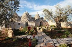 fairytale house House Deck, My House, Alberobello Italy, Fairytale House, Dry Stone, Unique House Design, Amazing Buildings, Inspired Homes, Hotel Reviews