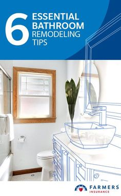 """In the wise words of Benjamin Franklin, """"By failing to prepare [for a bathroom remodel], you are preparing to fail."""""""