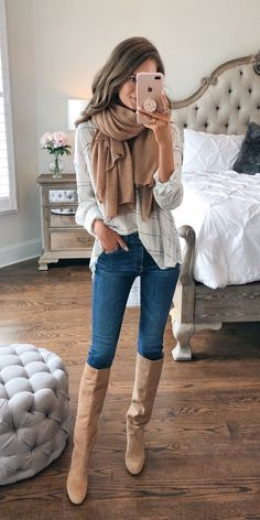 Nordstrom Anniversary Sale... this blog has the cutest picks and all the sizing info! Love the cognac scarf and matching boots for fall