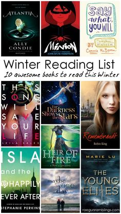 10 fabulous Young Adult books to add to your reading list (great for the young at heart too) Rae Gun Ramblings