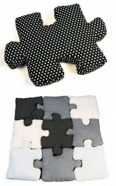Puzzle pillows - This really isn t a pattern df1736a22