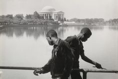 "Henri Cartier Bresson, ""Washington, DC, 1957."""