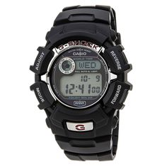 Casio G2310R-1 Men's G-Shock Alarm World Time Solar Power Watch - Discount Watch Store