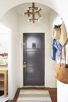 Want to impress your guests this year? Make a grand first impression by borrowing tips from these stunning entryways.