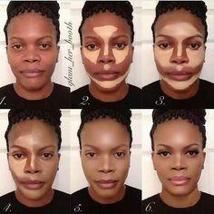 #makeup #contouring - www.beautylicieuse.com