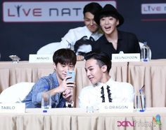Tablo + GD | YG Family Power Tour in Singapore Press Conference 140912