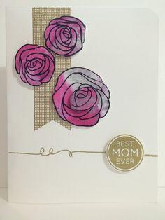 手作影片#27:母親節卡片BEST MOM EVER