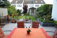 Reihenhaus-Garten 90m