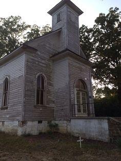 Methodist Church in Houston Arkansas-Est 1890