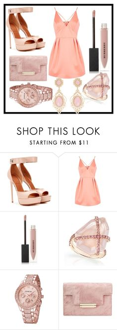 """""""Untitled #1134"""" by fashionqueen886 ❤ liked on Polyvore featuring Givenchy, Topshop and Burberry"""