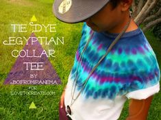 Altered Tie-Dye T-shirt Challenge featuring Jeshua of Boi from Ipanema – Do it YourSelf Interior Design Diy Tie Dye Shirts, Diy Shirt, How To Tie Dye, How To Dye Fabric, Moda Tie Dye, Tie Dye Party, Meme Design, Tie Dye Crafts, Tie Dye Techniques