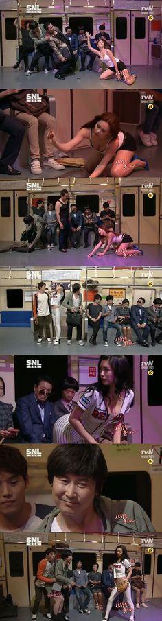 """'SNL' 아이비 vs 클라라, 최강 19禁 섹시대결에 시청자도 """"헉"""""""