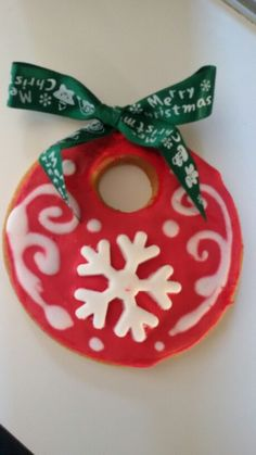 Biscotto natalizio da appendere