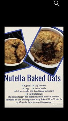 Baked Oats Slimming World, Slimming World Cake, Slimming World Desserts, Slimming World Dinners, Slimming World Breakfast, Slimming World Recipes Syn Free, Lo Calorie Recipes, No Calorie Foods, Slimmimg World