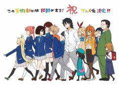 Download Anime Kono Bijutsubu ni wa Mondai ga Aru! BD Subtitle Indonesia Batch - http://drivenime.com/kono-bijutsubu-ni-wa-mondai-ga-aru-bd-subtitle-indonesia-batch/   Genres: #Comedy, #Romance, #School   This Art Club Has a Problem! Sinopsis Bercerita tentang klub seni di sebuah SMP. Anggota klub itu adalah Uchimaki Subaru, seorang yang mahir menggambar wajah, tapi dia hanya ingin menggambar waifu 2D. Collette, gadis pengacau yang tak pernah berhenti mengganggu.Ketua