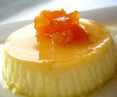 How to make orange Flan. My Dessert, Dessert Recipes, Panna Cotta, Custard Desserts, Vanilla Desserts, Decadent Cakes, Healthy Desserts, Healthy Food, International Recipes