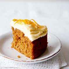 Our delicious carrot cake recipe has a lovely zingy topping