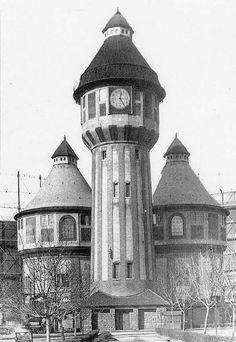 1930 körül. Óbudai Gázgyár.