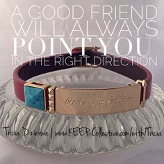TRICIA DZIERWA | Founding Independent Designer, KEEP Collective ~ E | tdzierwa@bex.net ~ Facebook | https://www.facebook.com/TriciaDzierwaJourney ~ http://www.keep-collective.com/with/Tricia      #bracelets #jewelry #personalized #KEEPcollective #KEEPstyle #turquoise #friendship #friends #arrow