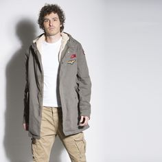 PARKA PATCH #parka #italogy #italogyofficial #madeinitaly #authentic #italian #couture #musthave #man #patch