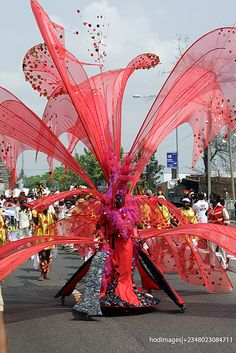 Nigeria exported the Masquerade tradition to the New World - and it is coming back to us in the form of Carnival. Pic is from the Calabar Carnival - which has become a welcome addition to the local tourism Christmas season. Steel bands from Trinidad and calypso bands - add to the festive fun and make for a Pan African event.