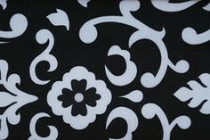 Workout Headbands For Women - Black And White Floral