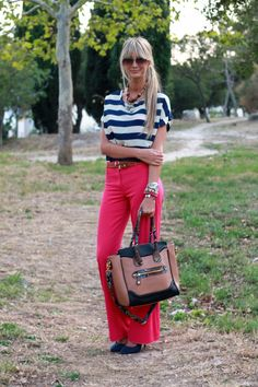 Love the whole outfit, especially the bag!