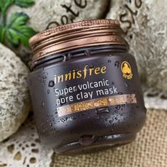 Innisfree - Super Volcanic Pore Clay Mask 10 Korean Skin Care Products to Add to Your Beauty Regimen, check it out at http://makeuptutorials.com/korean-skin-care-products/