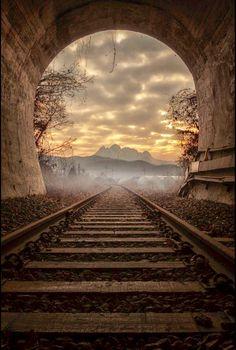 Bridge over the tracks. Source Facebook.com
