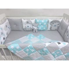 New Baby Boy Blankets Diy Crib Bedding Ideas Baby Bedroom, Baby Boy Rooms, Baby Room Decor, Baby Boy Blankets, Baby Pillows, Baby Dresser, Diy Crib, Baby Sewing Projects, Baby Bedding Sets