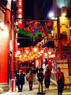 Nagasaki lantern festival in chaina town Nagasaki,Japan 2014