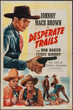 universal western movie posters | Movie Posters:Western, Desperate Trails (Universal, R-1947). One Sheet ...