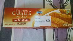 Filete de caballa en tomate. Hacendado. 2 puntos