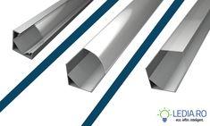 profil aluminiu banda led colt profil corner led strip ledia.ro sibiu
