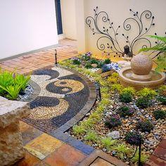 Garden Landscaping, Stepping Stones, South Africa, Garden Design, Gardens, Landscape, Outdoor Decor, Home Decor, Stair Risers