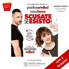 In which videoclip of the Italian singer Renato Zero does Paola Cortellesi appear?  Mail to contact@delicatezza.co.uk and WIN 2 TICKETS for 'SCUSATE SE ESISTO!' at Genesis Cinema on Sunday 31st May at 6:30pm. In collaboration with CinemaItaliaUK.