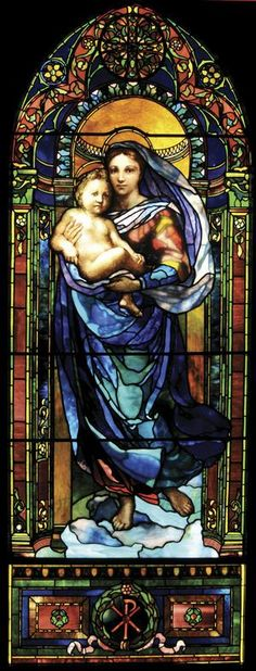 http://www.openlettersmonthly.com/issue/wp-content/uploads/2012/12/LaFargeMadonna.jpg  Lafarge/Lathrop Virgin window. Trinity Church