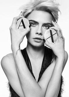 【SPUR】カーラ・デルヴィーニュがA|Xアルマーニ エクスチェンジの2017年秋冬キャンペーンモデルに! | ファッションニュース