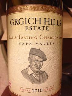 I produced this hedcut for the 2010 Grgich Hills Chardonnay Paris Tasting Commemorative, USA, California, Napa / Sonoma, Carneros - CellarTracker